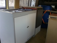 Cozinha e frigorifico