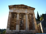 Casa do tesouro de Atenas | Treasure house of Athens