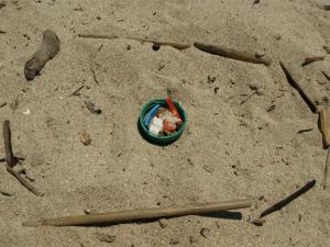 Elafonisos - Plástico